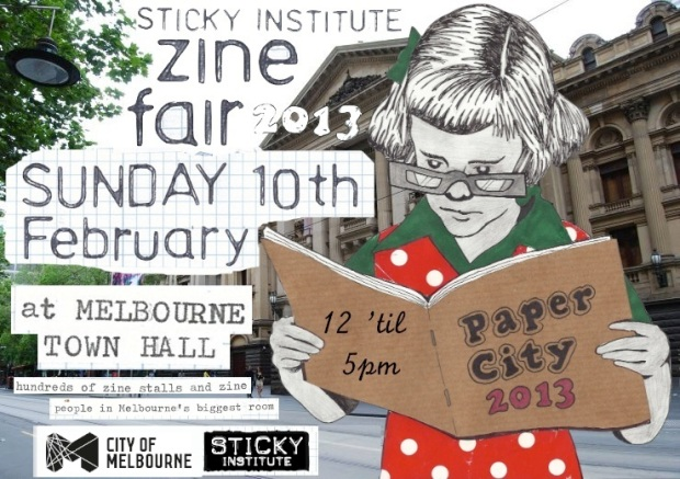 I'll be at the Sticky Institute Zine Fair this Sunday
