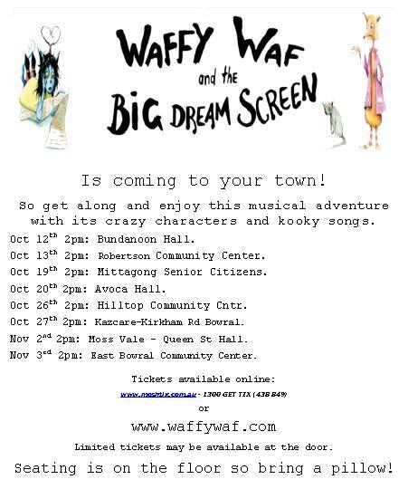 waffy waf stage