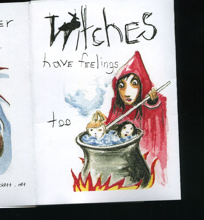 New Zine out now! The Witches.