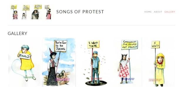 songs of protest gallery 2